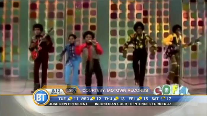 The Jackson 5 heads out on the 50th Anniversary Tour!